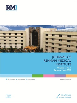 View Vol. 1 No. 1 (2015): Journal of Rehman Medical Institute