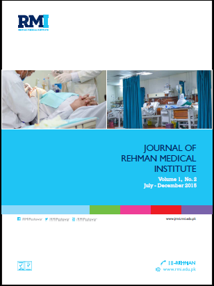 View Vol. 1 No. 2 (2015): Journal of Rehman Medical Institute